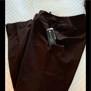 NWT INC dark brown trousers